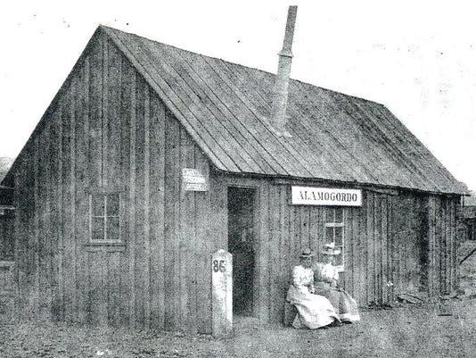 Alamogordo Railroad Depot