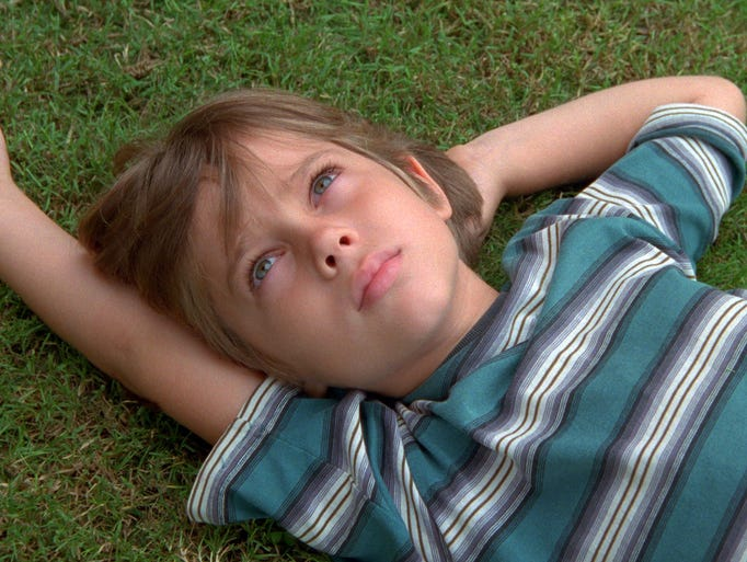 Ellar Coltrane, the star of the Boyhood, was 6