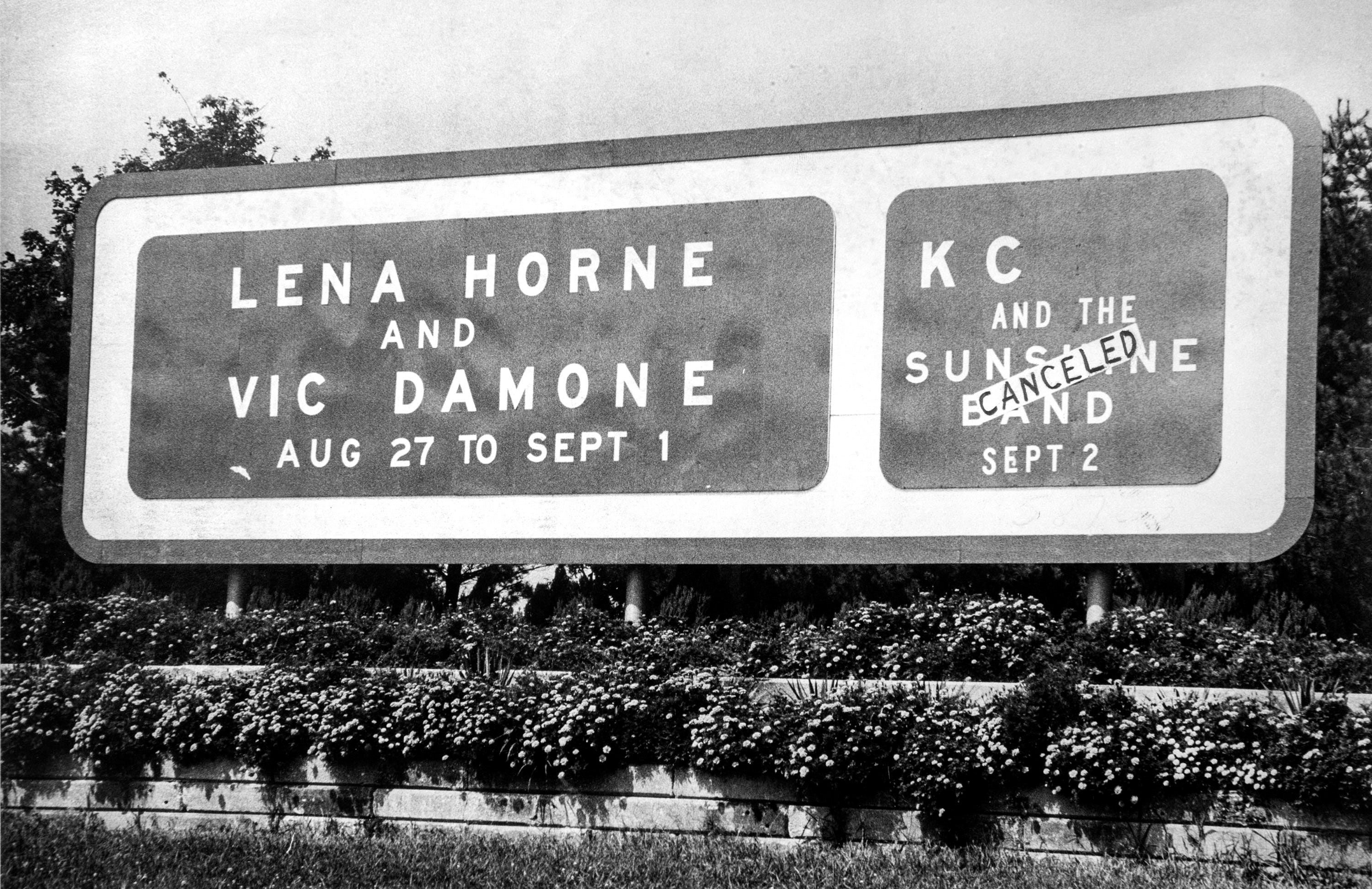 1979 Sign At The Garden State Arts Center