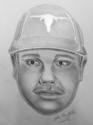 MTA police released this sketch of a Hispanic male suspect wanted for a forcible touching incident at Purdy's train station.