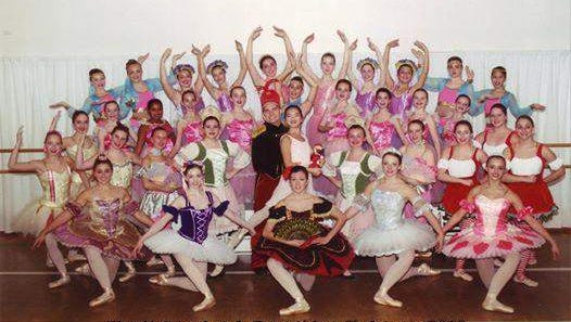 Performers from the 2013 edition of the Spring Lake School of Dance's Christmas production