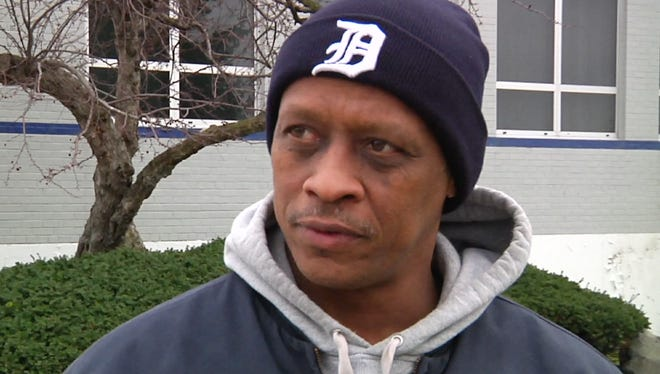 This April 8, 2016, image made from a video shows Wendell Nolen, who said he has experienced the slide from middle-class status first-hand, in Hamtramck, Mich. A widening wealth gap is moving more households into either higher or lower-income groups in major metro areas, with fewer remaining in the middle, according to a report released Wednesday, May 11, 2016, by the Pew Research Center.