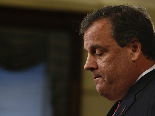 BESTPIX - New Jersey Governor Chris Christie Holds News Conference To Address Traffic Scandal