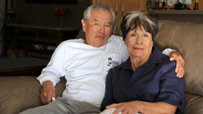 Taka and Jeanie Tanaka met as teenagers, only a decade after Taka's family was held in a relocation camp during World War II. They now live in St. George.