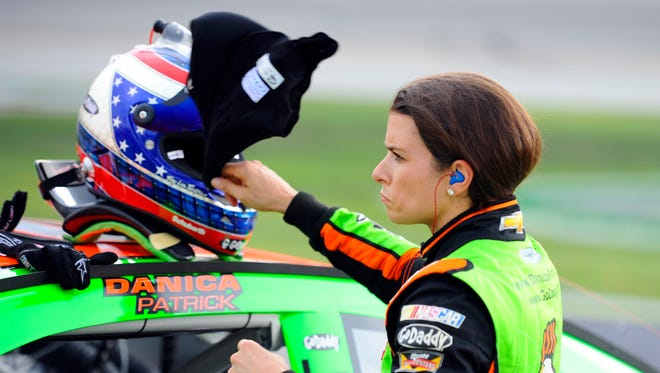 Danica Patrick started strong in Saturday's Quaker State 400, but was ultimately disappointed with her finish at Kentucky Speedway.