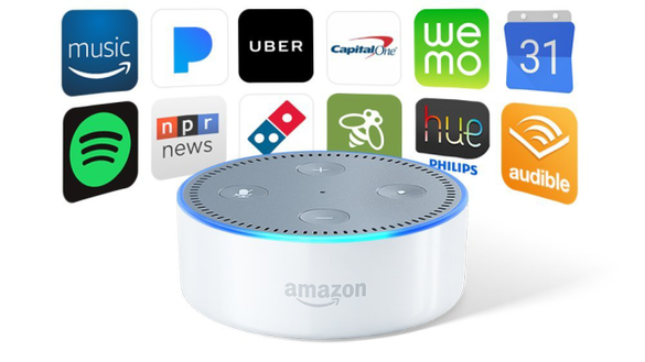 Find and install specific Alexa skills that you will