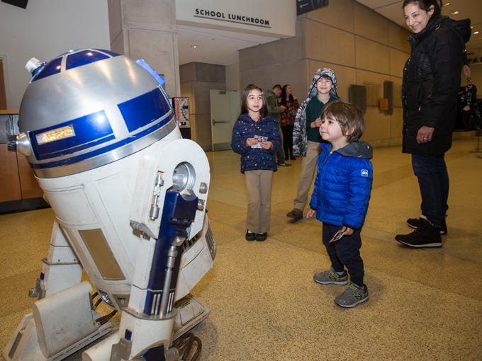 Theo Huber and his family attended Star Wars: The Last