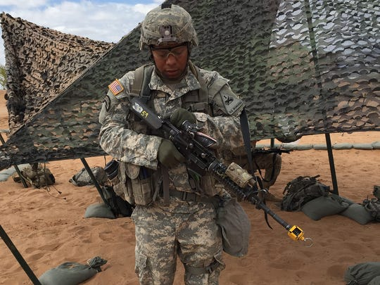 Staff Sgt. Luis Gomez, of Passaic, N.J. and a member