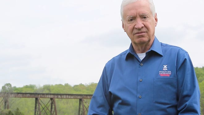 Wayne Gentry and the Pope Lick Trestle.