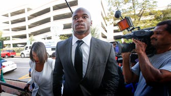 Adrian Peterson says he will never use a switch on a child again.