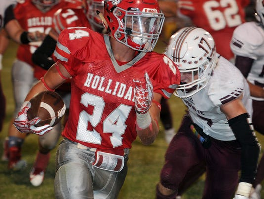 Bowie at Holliday FB 9