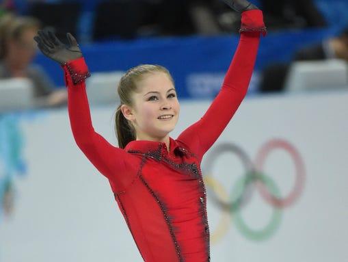 Yulia Lipnitskaya Gold Medal Team figure skating: B...