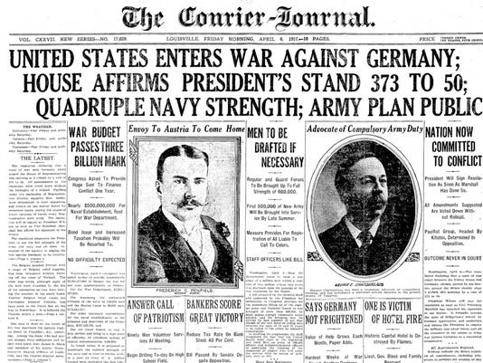 The Courier-Journal WW I