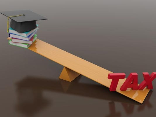 Tax Concept with Books