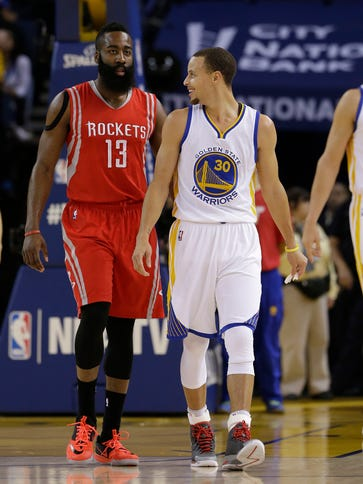 Harden and Curry