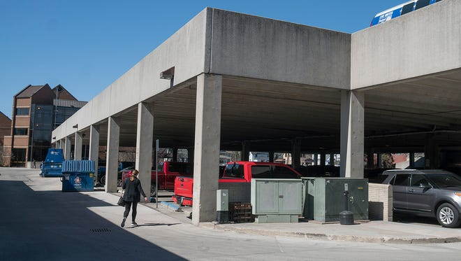 Plymouth's 280-space parking deck is set for repairs starting April 2.