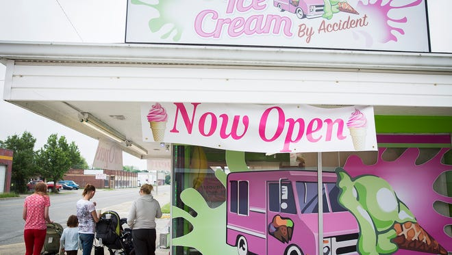 Ice Cream By Accident opened May 10 on Walnut Street in Muncie.