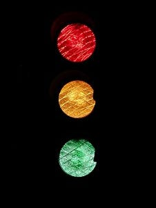 Traffic signal.