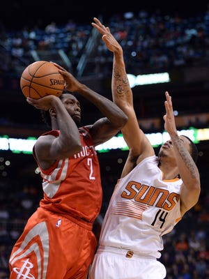 Houston point guard Patrick Beverley hit a late three to lift the Rockets to a win over the Suns.