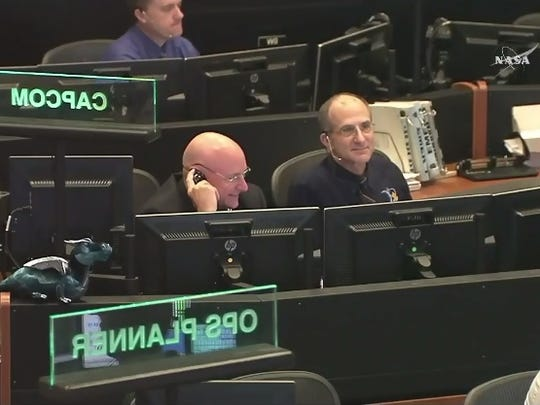 In Mission Control on Aug. 24, former NASA astronaut