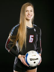 South Salem junior Selbie Christensen for the Statesman