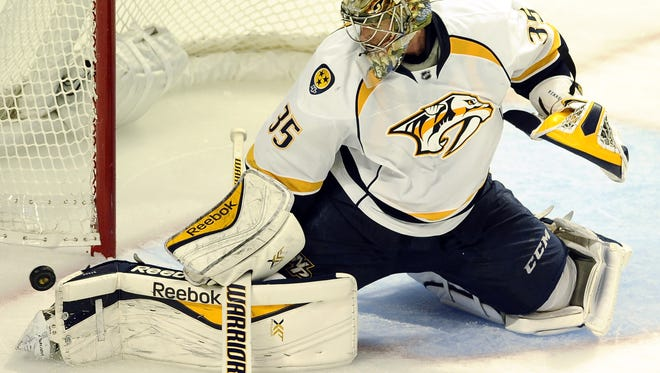 Pekka Rinne won 41 games last season and was a Vezina Trophy finalist.