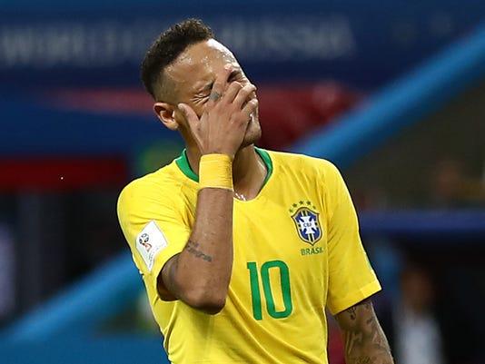 USP SOCCER: WORLD CUP-BELGIUM VS BRAZIL S SOC RUS