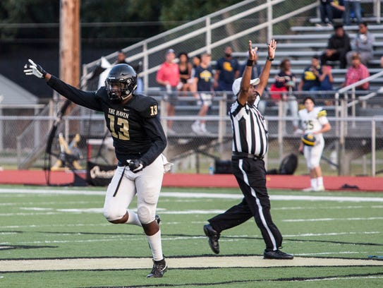 September 08, 2017 - Whitehaven's Devon Robinson celebrates