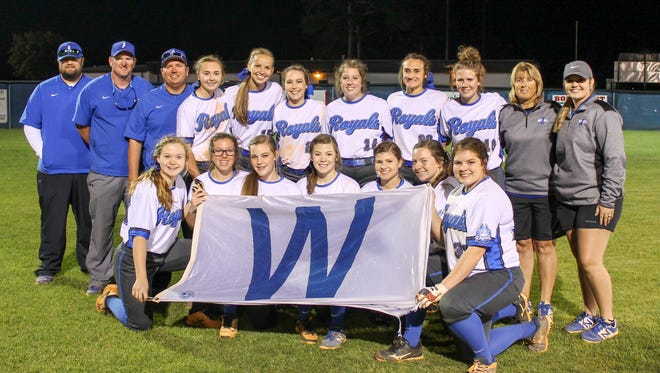 Jay High's softball team is headed to the regional finals after Thursday night's win.