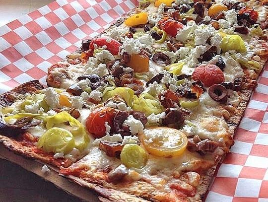 Saffron JAK pizza