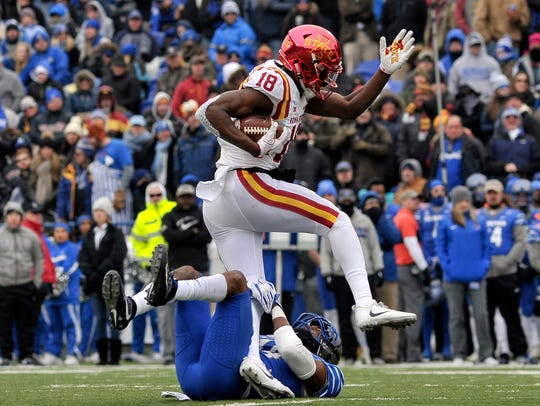 Dec. 30: Iowa State Cyclones wide receiver Hakeem Butler