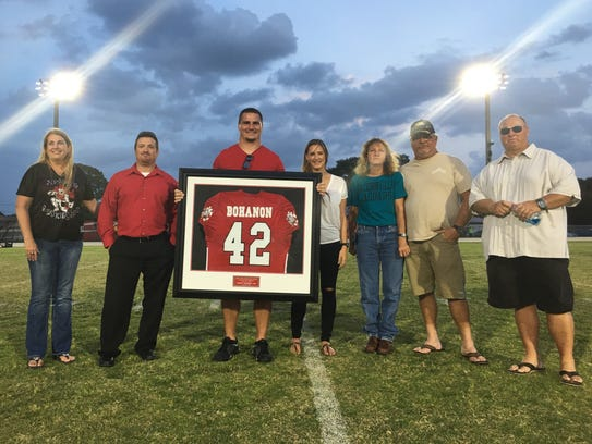 NFL fullback Tommy Bohanon had his North Fort Myers