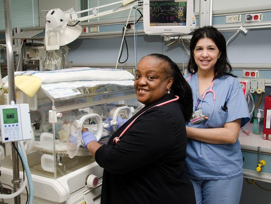 NICU at Saint Peter's recognized with silver Beacon Award for Excellence PHOTO CAPTION
