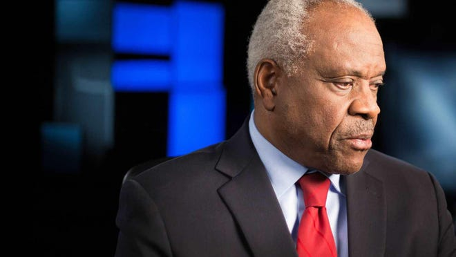 """Clarence Thomas, a Supreme Court justice for nearly three decades, is highlighted in """"Created Equal: Clarence Thomas in His Own Words."""""""