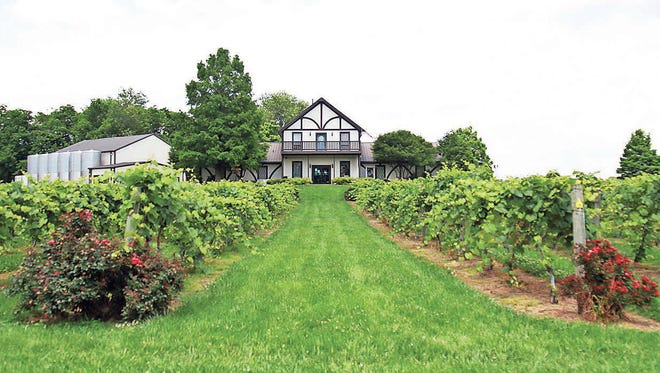 Clarksville native Judge William O. Beach started the family business at Beachaven Vineyards in 1986.