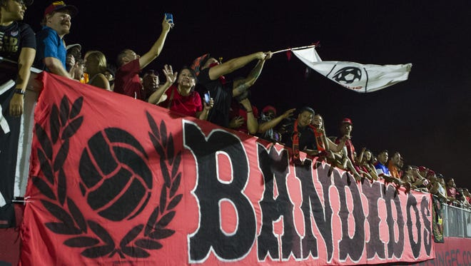Los Bandidos is a group that supports the Phoenix Rising FC.