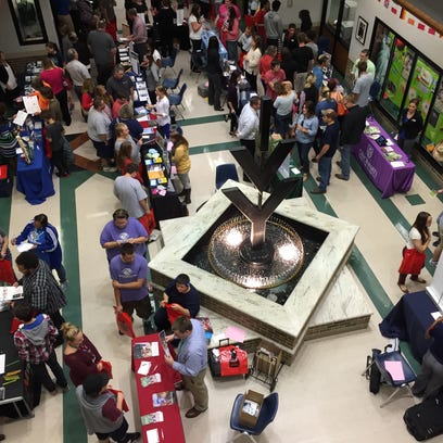 Prospective students filled the lobby of Ivy Tech Community College's Johnson Hall for the Eastern Indiana College Fair in September 2015. Anyone planning to take college classes in 2016-2017 can get help filling out the FAFSA form during the upcoming FAFSA Days.