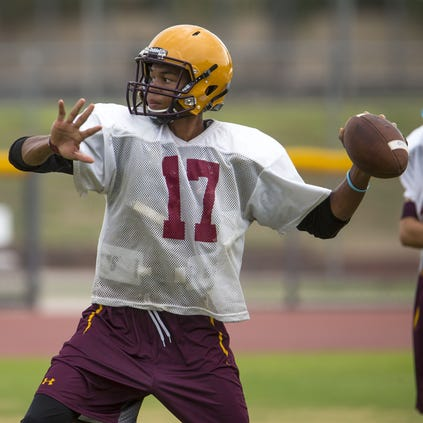 azcentral sports' Richard Obert ranks the Top 10 teams in each division before the start of the 2014 season. He begins with Division I and works his way through Division VI. Is defending champion Mountain Pointe the team to beat in Division I?