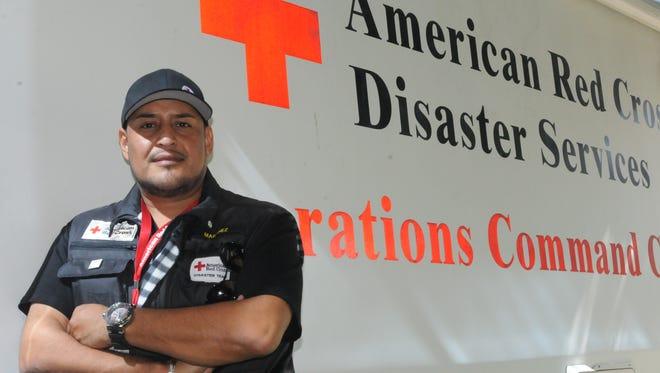 Francisco Martínez, es uno de los fundadores del Grupo Latinos Preparados en Cruz Roja.