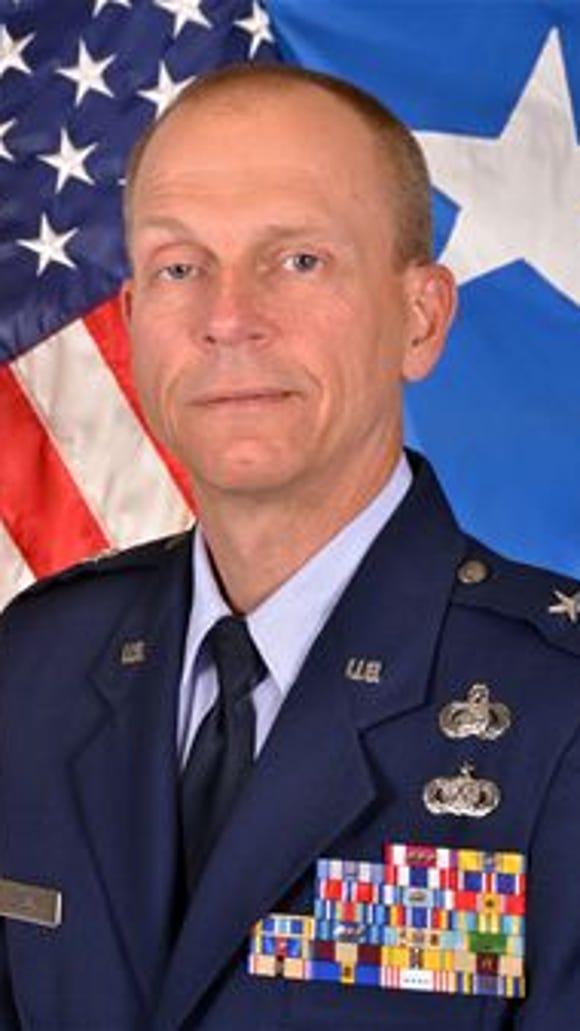 Brigadier Gen. David E. Deputy, Delaware Air National Guard.