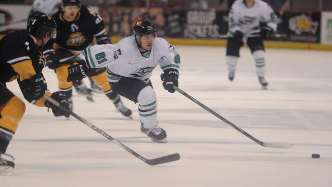 The Ice Gators take on the River Kings in the Cajundome on Thursday night in the second of a best-of-three playoff series.
