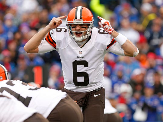 Brian Hoyer has thrown five interceptions in the Browns'