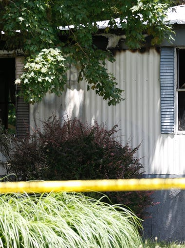 Officials say five children were killed Wednesday in a house fire in Lebanon.
