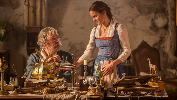 Kevin Kline plays father to Emma Watson's Belle in