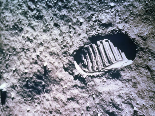 Astronaut Footprint