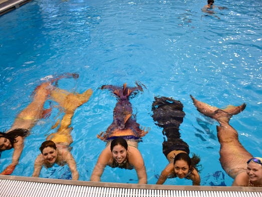 Over 100 merfolk and mermaid enthusiasts gathered at