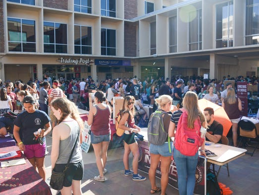 The Fall 2016 Involvement Fair took place on Tuesday,