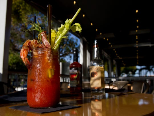 The signature Bloody Mary available at Cork Soakers