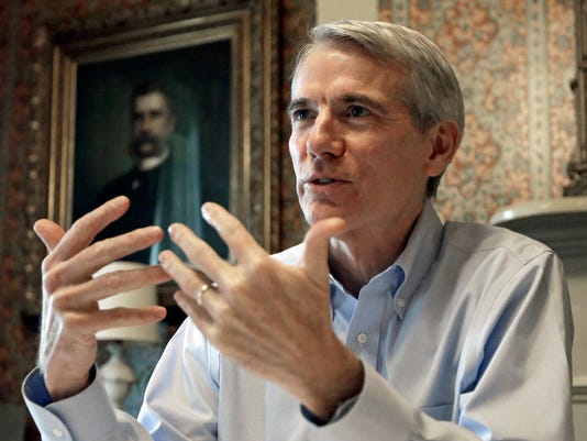 AP SENATE OHIO PORTMAN ADS A FILE USA OH