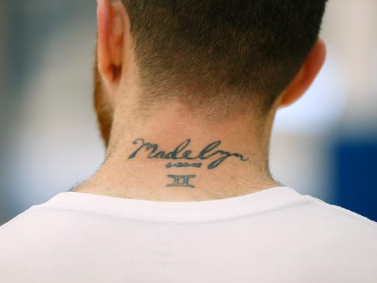 Eric Devendorf says he got this tattoo shortly after